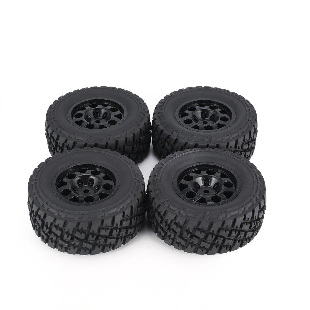 4Pcs Austar 110Mm Velg Rubber Tyre Wheel Set Onderdelen Accessoires Voor Traxxas Slash 4X4 RC4WD Hpi Hsp crawler Auto Model Tire