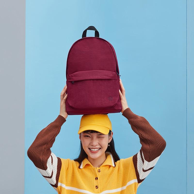NINETYGO 90FUN-حقيبة ظهر للكلية ، حقيبة كمبيوتر محمول سعة 15 لترًا للفتيات والفتيان ، ملونة ، خفيفة الوزن ، عصرية