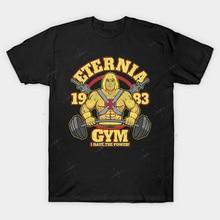 ETERNIA gimnasio T camisa camiseta para gimnasio hombre skeletor motu montaña serpiente ella ra heman