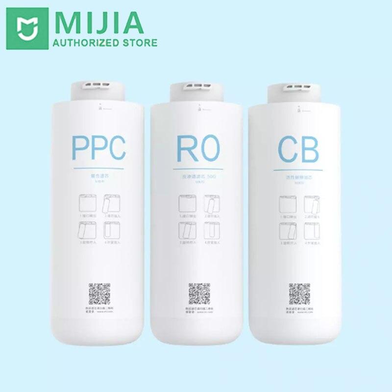 Purificador de Água Filtro de Água Original Xiaomi Filtro Substituição ro cb pp Algodão Ativado Potável Mijia Controle App mi c1