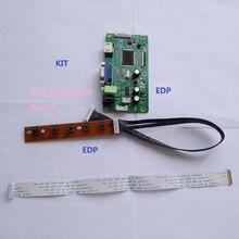 "Para N173HGE-E11 17.3 ""placa de controlador 30pin tela display 1920x1080 diy kit monitor vga lcd edp driver"