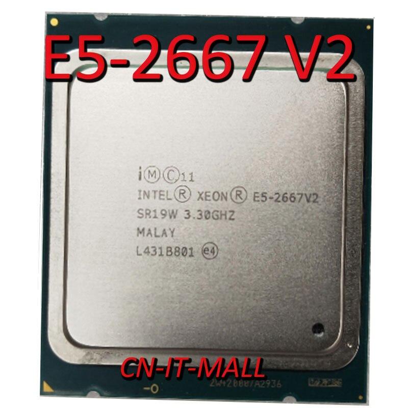 Intel Xeon E5-2667 V2 CPU 3,3 GHz 25MB Cache 8 Kerne 16 Themen LGA2011 Prozessor