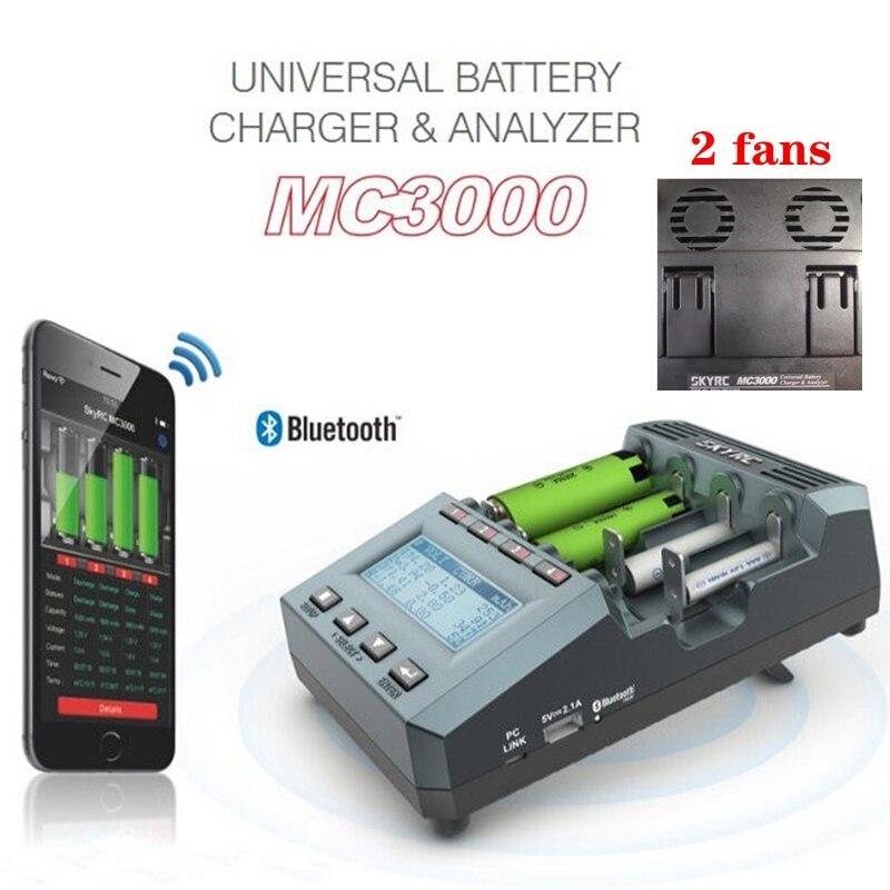 شاحن بطارية SKYRC MC3000 BT-بلوتوث التطبيق الذكي الكمبيوتر التحكم اللاسلكي العالمي قابلة للشحن 18650 aa ليثيوم أيون LiFePO4 يبو
