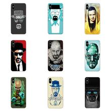 Danger Breaking Bad Red Soft TPU Print Phone For Samsung Galaxy A10 A20 A20E A3 A40 A5 A50 A7 J1 J3 J4 J5 J6 J7 2016 2017 2018