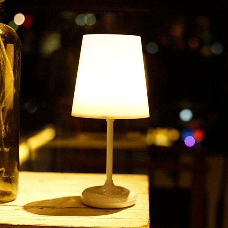 Lámpara LED regulable de mesa con Sensor de presión de ABSS-LED, luz de escritorio con cargador USB, Control remoto para habitación de oficina y dormitorio