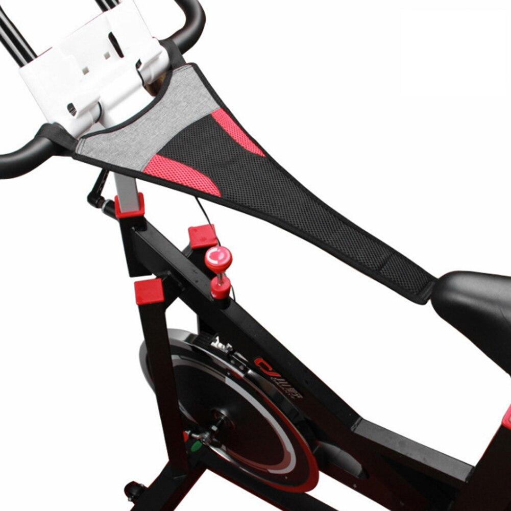 Banda para el sudor para entrenamiento de bicicleta, deportiva de nailon para gimnasio, accesorio de entrenamiento para interiores