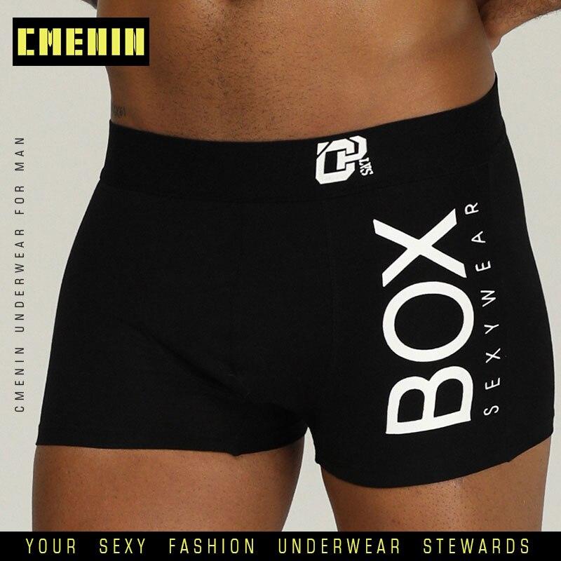 CMENIN, сексуальное нижнее белье, мужские боксеры, Cueca, мужские трусы, хлопок, мягкие, модные, для мужчин, нижнее белье, трусы, 3D мешочек, шорты, OR212