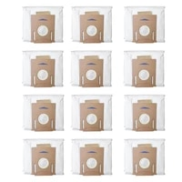 for ecovacs deebot ozmo t8 t8 aivi robot vacuum cleaner high capacity leakproof dust bag replacement accessories parts kits