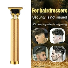 Professional Mens Electric Hair Clippers Shaver Trimmers Cordless Beard Black Men Hair Cutting Machi