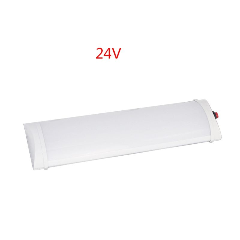 자동차 인테리어 Led 라이트 바 10W 72 LED 백색광 튜브 스위치 밴 트럭 RV 캠핑 보트 실내 천장 T3EF