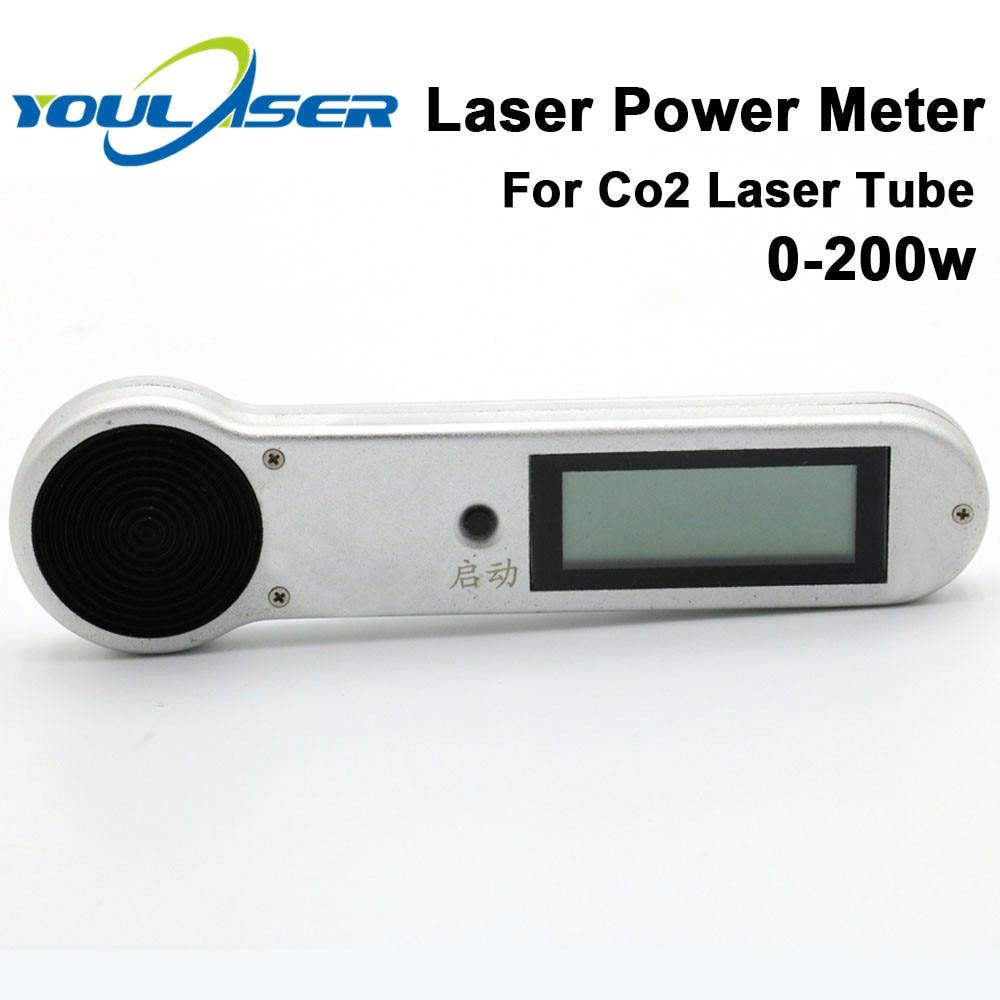 Medidor de potência handheld 0-200w HLP-200 do laser do co2 para o tubo da máquina de corte da gravura do laser