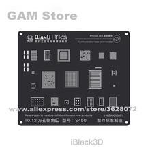 QIANLI iBlack 3D Baseband BGA трафарет для iPhone 5 5S 6G 6Plus 6S 6SP 7 7P 8 8P Wifi power IC Reball паяльная стальная сетка жестяная сетка