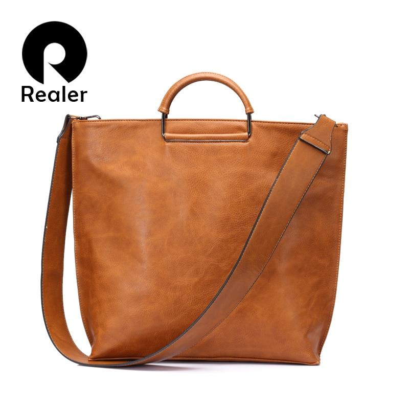 REALER бренд модная сумка женская через плечо большая наплечная сумка для женщин, женский складываемый клатч,дамская сумка хобо на плечо высок...