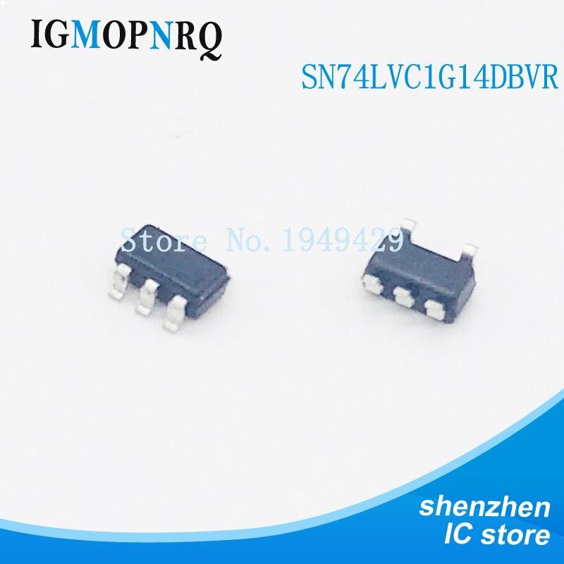 20pcs SN74LVC1G14DBVR SOT23-5 74LVC1G14GV SOT-23 SN74LVC1G14 SOT-23-5 74LVC1G14 SMD nuevo Original IC