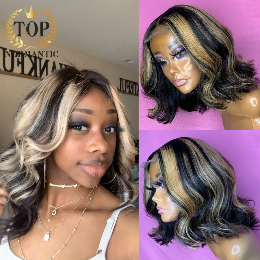 topnormantic t parte do laco onda solta remy perucas de cabelo humano para as mulheres