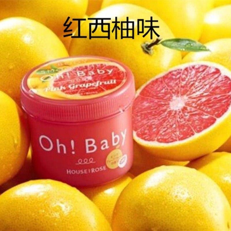 Drivworld-exfoliante corporal Oh, esencia de seda, exfoliación de limón, pomelo, jengibre, sabor...