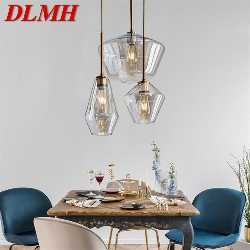 DLMH Nordic подвесной светильник светодиодный Современный простой лампы декоративные настольные лампы для дома Обеденная бар