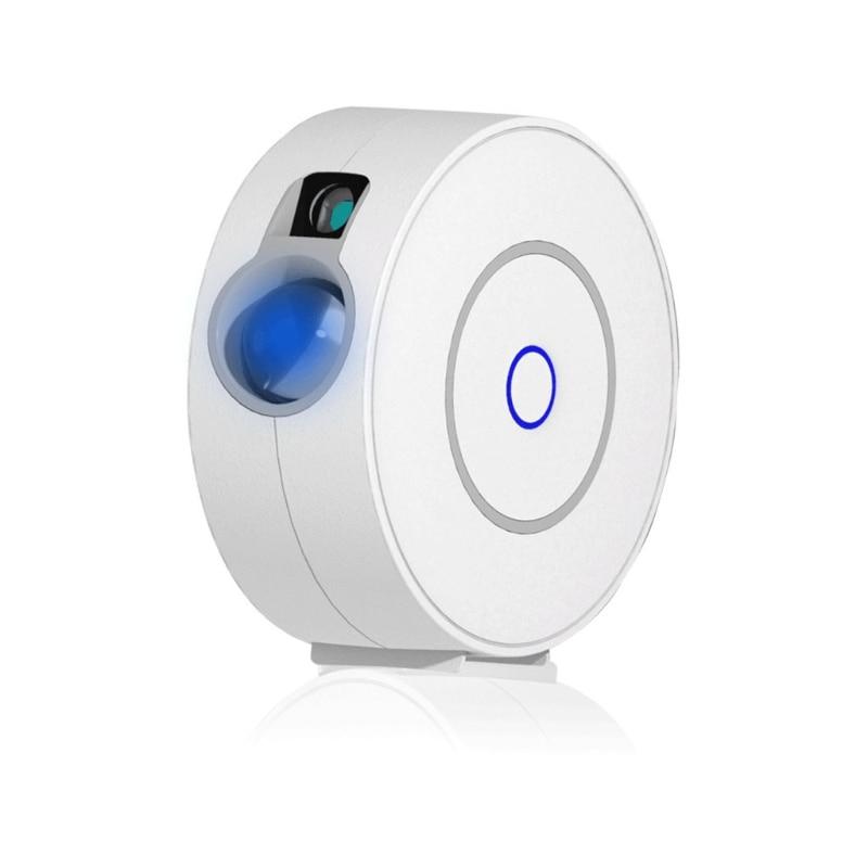 نجمة العارض السماء LED متعدد الألوان تتحرك سديم سحابة ليلة ضوء جو مصباح App التحكم الصوتي يعمل مع المنزل