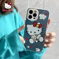 hello kitty for iphone 78pxxrxsxsmax1112pro12mini cartoon girl anti fall mobile phone case