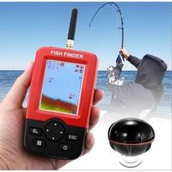 Inventor de peixes de profundidade portátil inteligente com 100m sem fio sonar sensor sonar sonoro fishfinder para a pesca do mar do lago água salgada