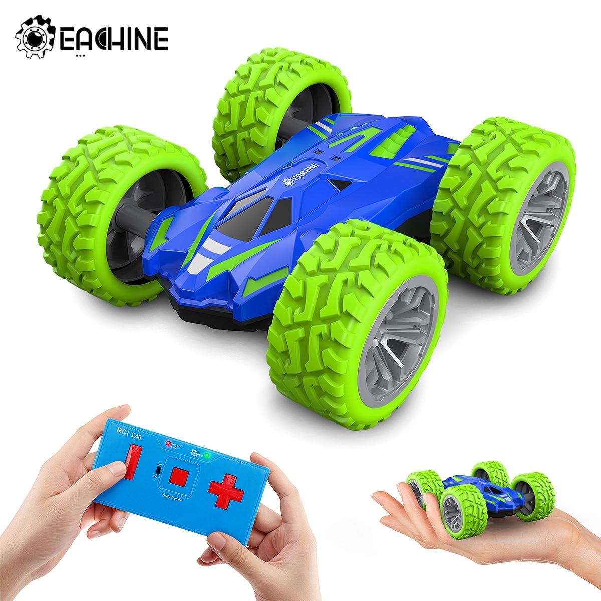 Eachine ec07 RC Car 2.4G 4CH Stunt Drift Deformation Remote Control Rock Crawler Roll Flip Kids Robot Auto Toy