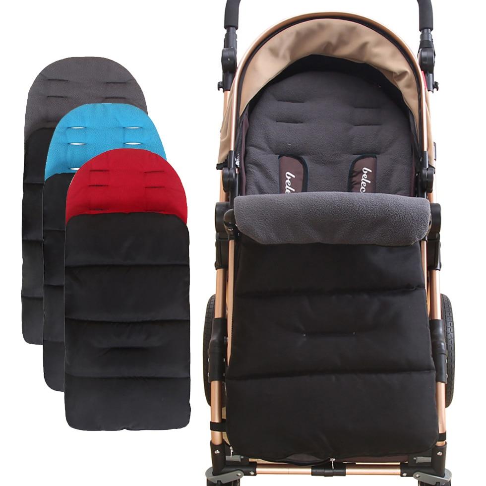 Детские матрасы в коляске, водонепроницаемые зимние спальные мешки для ног, коврик, подкладка для коляски, конверты для новорожденных
