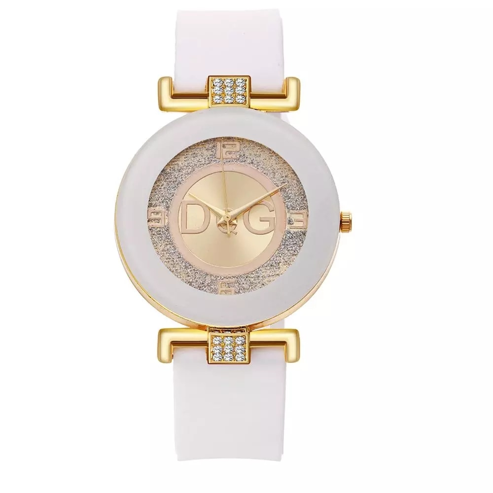 Reloj de pulsera de silicona para Mujer, accesorio femenino de cuarzo, a...