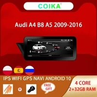 10 25 android 10 system car gps navi stereo for audi a4 b a5 2009 2016 232gb bt wifi google multimedia radio player