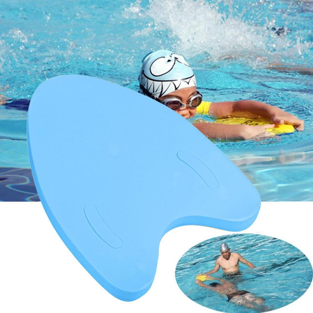 Eva nadar leve uma placa de forma placa flutuante volta float kickboard piscina seguro treinamento ferramentas placa de auxílio para adultos & crianças