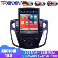 for ford focus 2012 2017 android 6128gb car multimedia radio player ips touch screen stereo gps navigation system dsp carplay