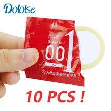 10 stücke kondome Für Männer Sicher empfängnisverhütung Intimen waren erwachsene Sex Produkte Natürliche Latex Kondome Penis Hülse Kondome