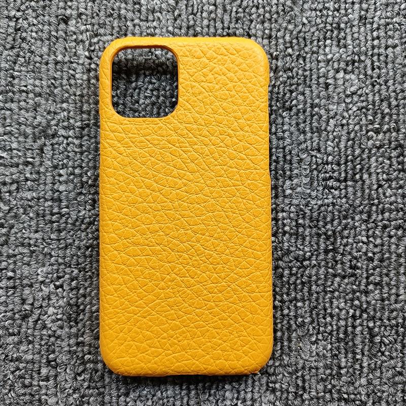 Atacado varejo grão cheia couro do couro capa para iphone x xr xs 11 12 pro max mini 5.4 6.1 6.7 genuíno caso de volta