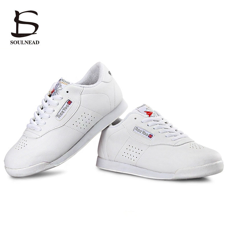 Aerobics Shoes Women Kids Sports Shoe Boys Girls Aerobics Dance Shoes White Competitive Modern/Jazz/