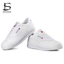 Kids Aerobics Shoes Women Sports Shoe Boys Girls Aerobics Dance Shoes White Competitive Modern/Jazz/