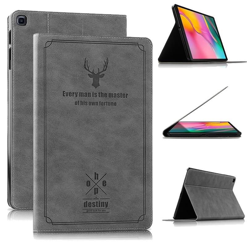 Funda para tableta Samsung Galaxy Tab A 2019 SM-T510 SM-T515 T510 T515, funda con soporte para tableta A 10,1 ''2019, funda para tableta + regalo