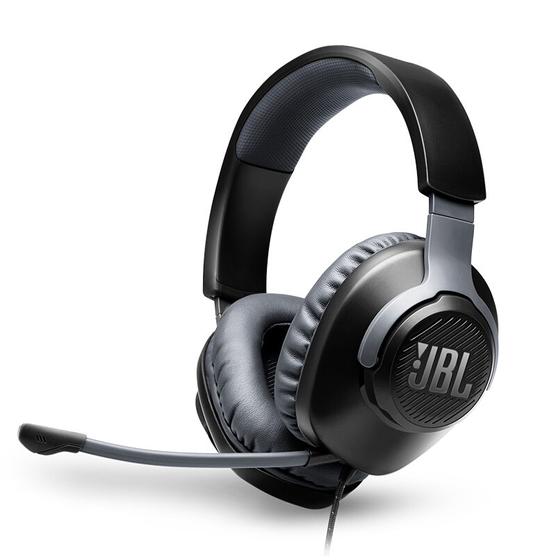 JBL QUANTUM100 7.1 Q100 Original Sports Gaming Headset Professional FPS Surround with Microphone Computer Desktop Wired Laptop enlarge
