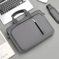 new shockproof laptop bag 13 3 14 15 6 17 inch shoulder handbag notebook sleeve carrying case for macbook air pro hp women men