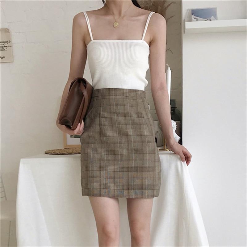 Hc8911be792b04a78b4eee0af428333f3g - Summer Korean Sleeveless Basic Solid Camisole