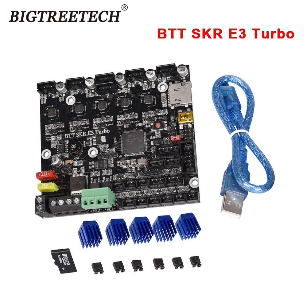 BIGTREETECH BTT SKR E3 توربو 32Bit اللوحة المتكاملة TMC2209UART مزدوجة Z-محور ترقية ل Creality Ender3 3D طابعة أجزاء