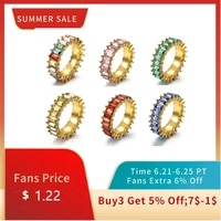 mc ins colorful heart print rings women rainbow couple dripping oil rings 2021 greenblue size 678 elegant engagement jewelry