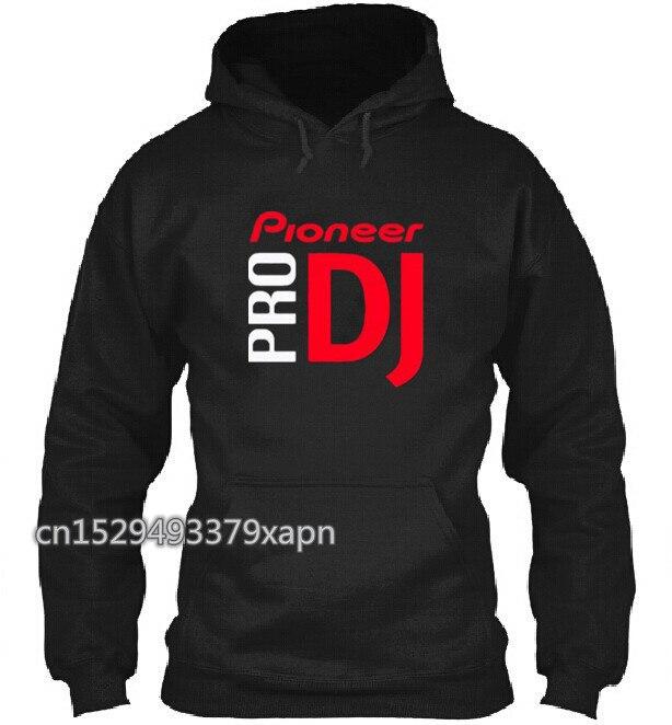 Sudadera con capucha de música de DJ para hombre, unisex, pioneer pro DJ, sudadera con capucha, Chaqueta de algodón para invierno para hombre
