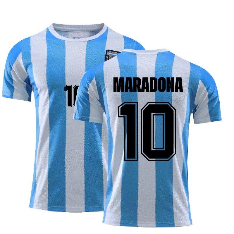 Verano Camiseta Vintage De Maradona 10 Para Hombres Y Mujeres Tops De...