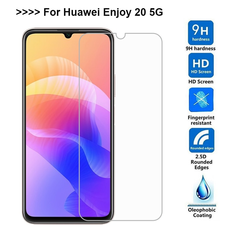 Tempered Glass for Huawei Enjoy 20 Pantalla Protective Film Screen Protector on Enjoy 20 5G WKG-AN00