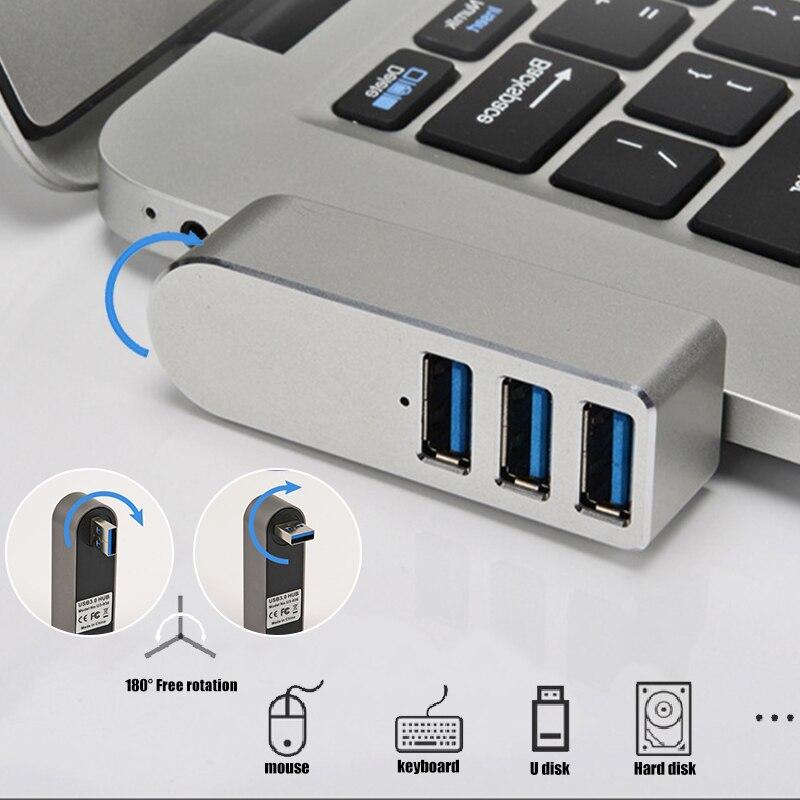 لاسلكي 3 في 1 USB 3.0 Hub لأجهزة الكمبيوتر المحمول محول الكمبيوتر الكمبيوتر USB تهمة محور دفتر الخائن تمديد ديل لينوفو HP اكسسوارات