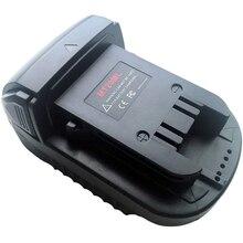 Makita 18V 리튬 이온 배터리 BL1830 BL1860 BL1815 용 MT20ML 변환기 어댑터 USB 충전기가있는 밀워키 M18 변환