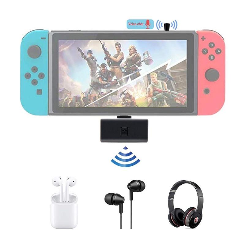 Receptor de transmisor USB tipo C de Audio inalámbrico Bluetooth para Nintendo Switch/PS4/laptop aptX adaptador inalámbrico de baja latencia