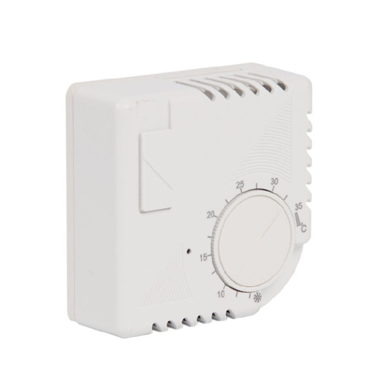 Regulador de termostato de aire para habitación mecánico, CA 220V, controlador de temperatura de calefacción para suelo, 10A 0-35 grados