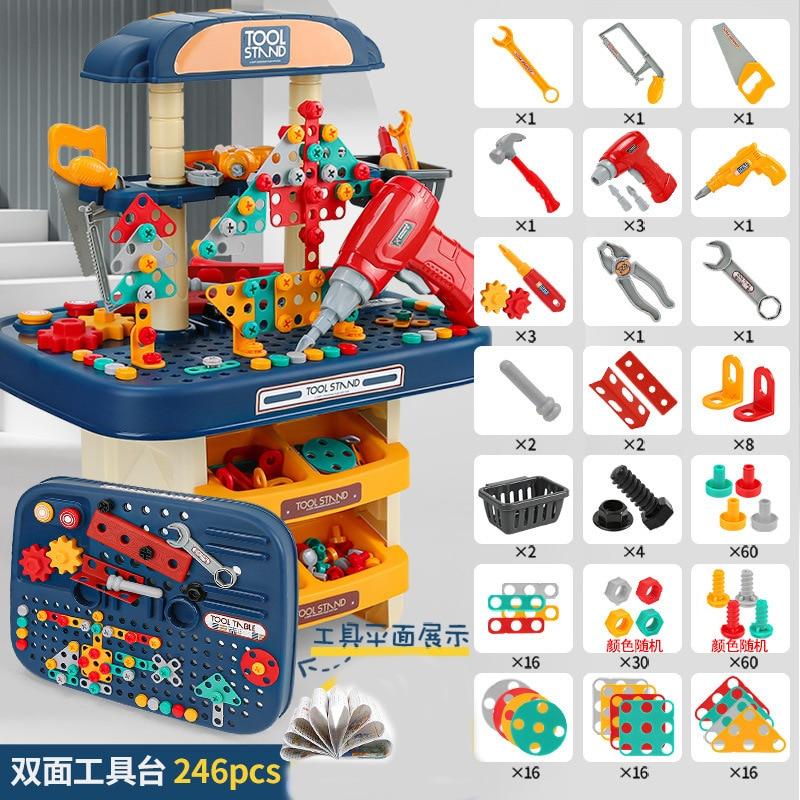 conjunto de ferramentas para bebes tecnologia diy conjunto para criancas martelo