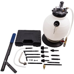 Сжатого воздуха трансмиссионного масла наполнителя машина блока насоса с зубчатой передачей насос с 7.5L ящик для инструментов