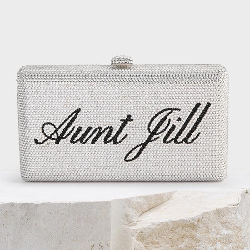 حقيبة يد زفاف فضية مرصعة بالألماس ، حقيبة يد كريستالية ، حقيبة هاتف صغيرة ، أنيقة ، عصرية ، للنساء ، جودة عالية ، 2021